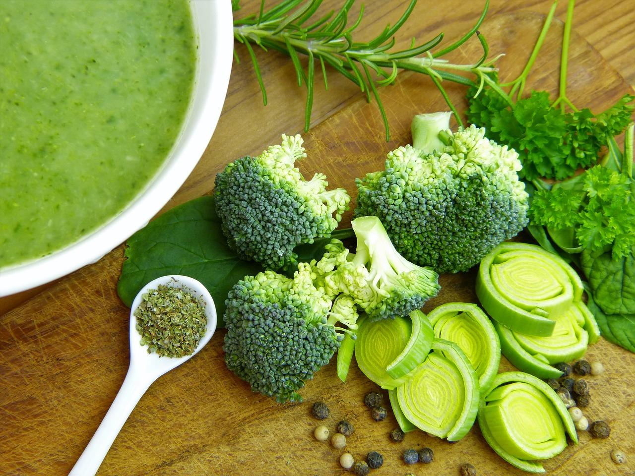 Les vertus des légumes verts